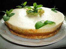 Tort karmelowy z musem waniliowym