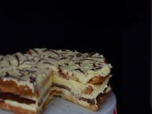 Tort karpatka z nutellą