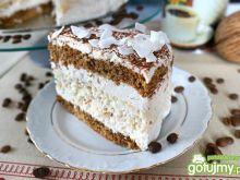 Tort kawowo - kokosowy