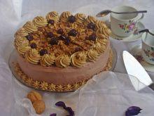 Tort kawowo-orzechowy