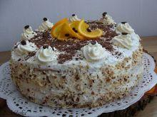 Tort kawowo-pomarańczowy