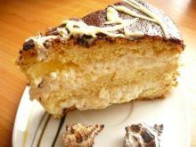 Tort kokosowo - ananasowy