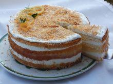 Tort kokosowo-cytrynowy