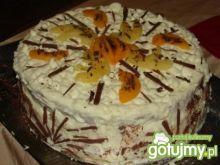 Tort kokosowo-czekoladowo-orzechowy