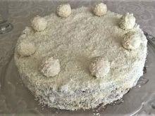 Tort kokosowy (bez mąki)