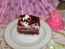 Tort krówkowo-wisniowy