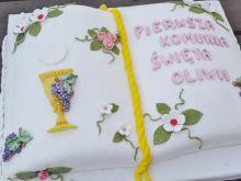 Tort księga komunijna