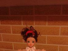 Tort lalka urodzinowy