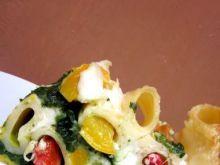 Tort makaronowy z warzywami