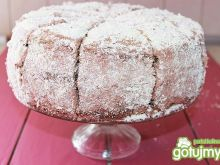 Tort makowo-migdałowy