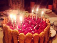 Tort malinowy Tiramisu