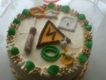 Tort maślany dla elektryka