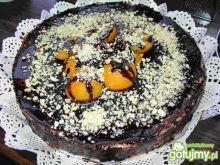 Tort morelowy na waflach