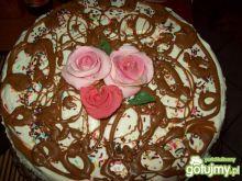 Tort morelowy z czekoladą