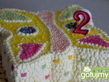 Tort motylek dla mojej Księżniczki