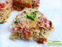 Tort naleśnikowy z mięsem warzywami