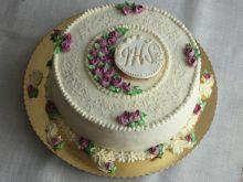 Tort o smaku białej czekolady