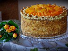 Tort Orzechowa brzoskwinka