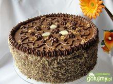 Tort orzechowo kokosowy