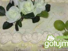 Tort orzechowo-kokosowy
