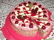 Tort orzechowo-wisniowy