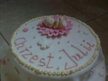 Tort piętrowy karmelowy