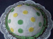 Tort Piłka w kropki