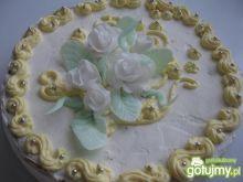 Tort pomarańczowo-migdałowy