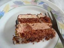 Tort ponczowy z czekoladą