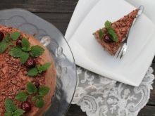 Tort pralinkowy mocno czekoladowy ( bezglutenowy)