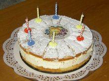 Tort serowo-śmietankowy