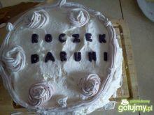 Tort śmietankowo-ananasowy na roczek