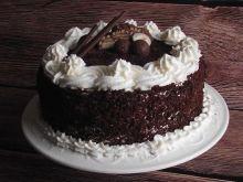 Tort śmietankowo czekoladowy ala lion