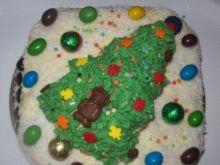 Tort Świąteczny urodzinowy