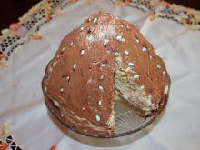 Tort tiramisu stożek