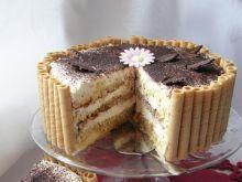 Tort tiramisu według alaaa