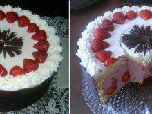 Tort truskawkowy I