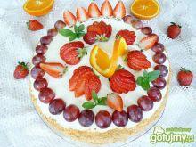 Tort truskawkowy na dzień mamy