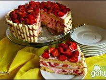 Tort truskawkowy według Zewy