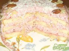 Tort truskawkowy wg Alex