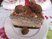 Tort urodzinowy z kulkami czekoladowymi