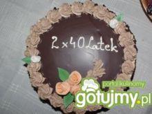 Tort w czekoladzie