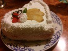 Tort walentynkowy-serce