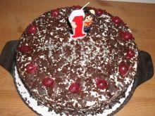 Tort wisniowy bez pieczenia :)