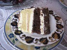 Tort z biszkoptem kukurydzianym