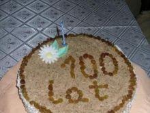 Tort z masą kakaową
