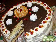 Tort z masą makową