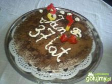Tort z mascarpone od Hamrocyka