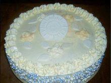 Tort z nutą cytrynowo - owocową