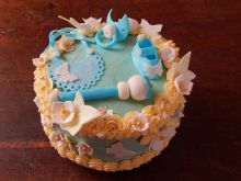Tort z okazji chrztu